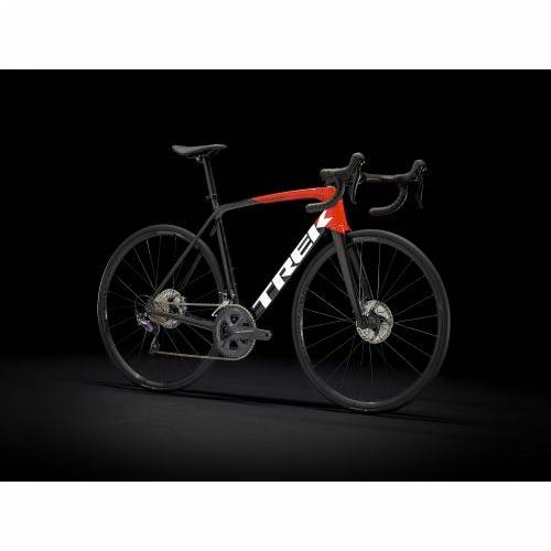 BICIKL TREK TRKAĆI EMONDA SL 6 DISC 54CM TREK BLACK-RADIOACTIVE RED / 2021 Cijena