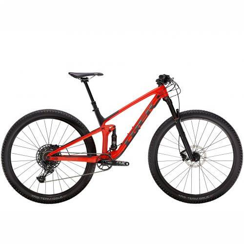 BICIKL TREK MTB Top Fuel 9.7 NX ML Gloss Red/Matte Carbon Smoke / 2021 Cijena