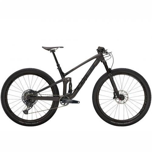 BICIKL TREK MTB Top Fuel 9.8 GX ML Matte Raw Carbon/Voodoo Trek Black / 2021